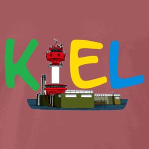 Kiel Shirt buntes Logo mit Kieler Turm
