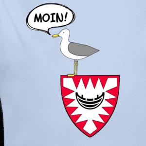 Kiel Shirt Möwe Pipsch sagt Moin