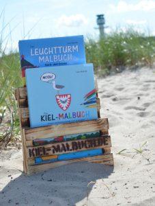 Kiel Malbuch und Leuchtturm Malbuch