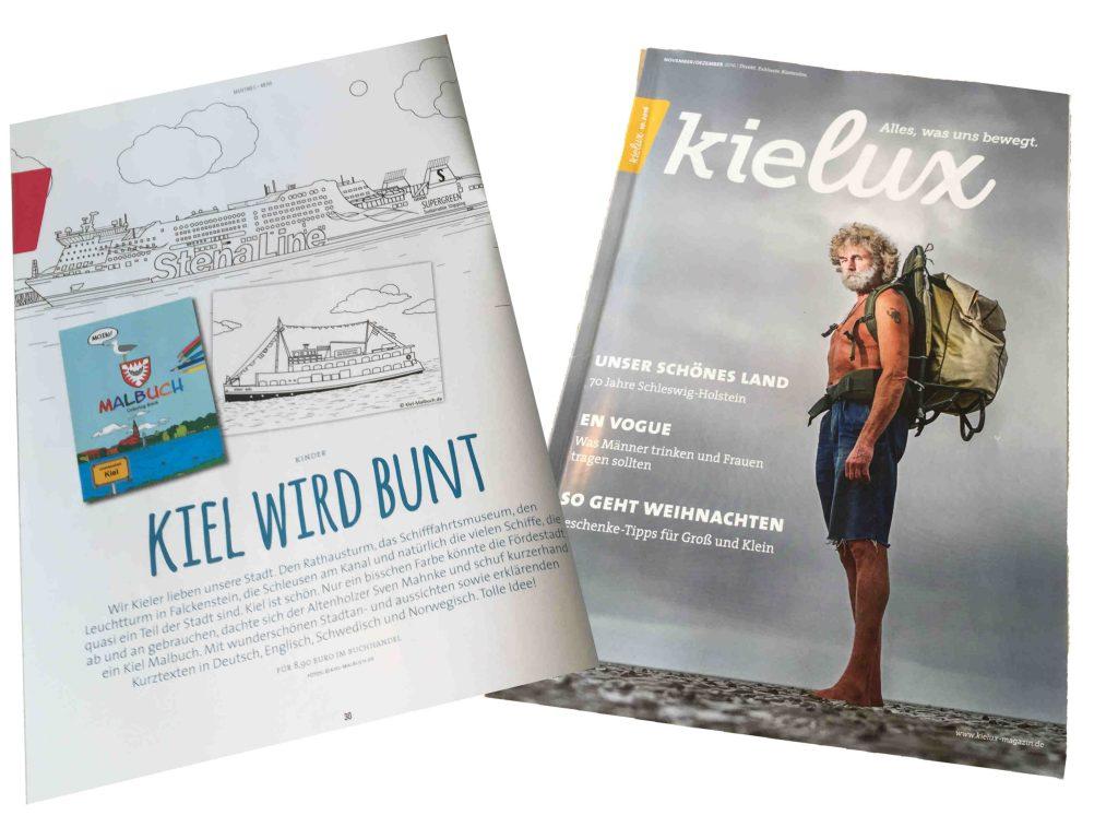 Kielux - Kiel Malbuch kl