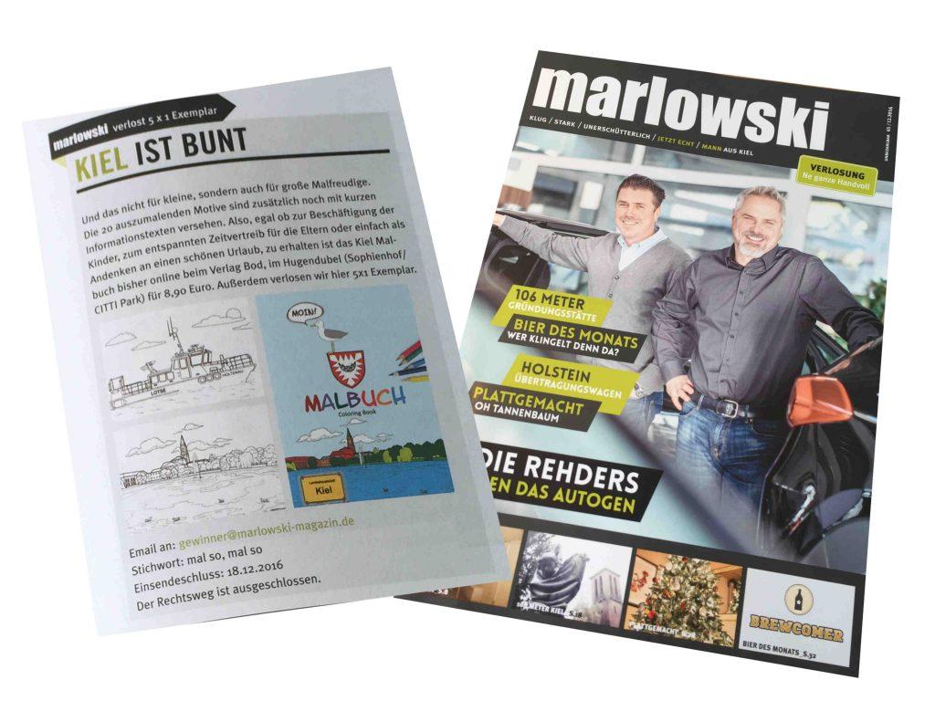 Marlowski - Kiel Malbuch kl