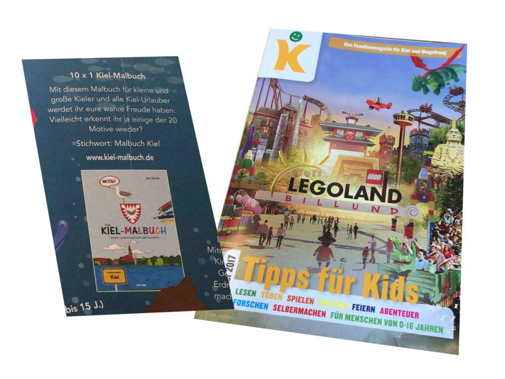 Tipps für Kids - Kiel Malbuch kl