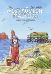 Cover Westküsten-Malbuch Sven Mahnke